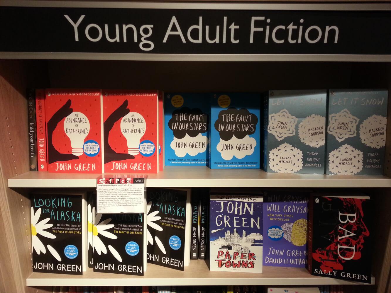 Risultati immagini per young adult libri